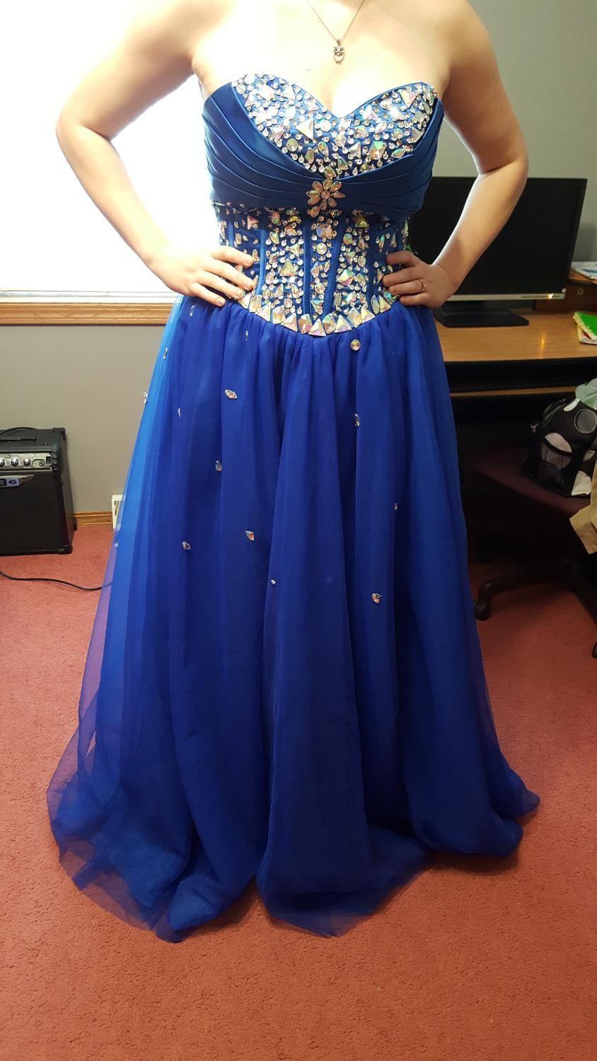 Find More Blue Prom Dress For Sale At Up To 90 Off