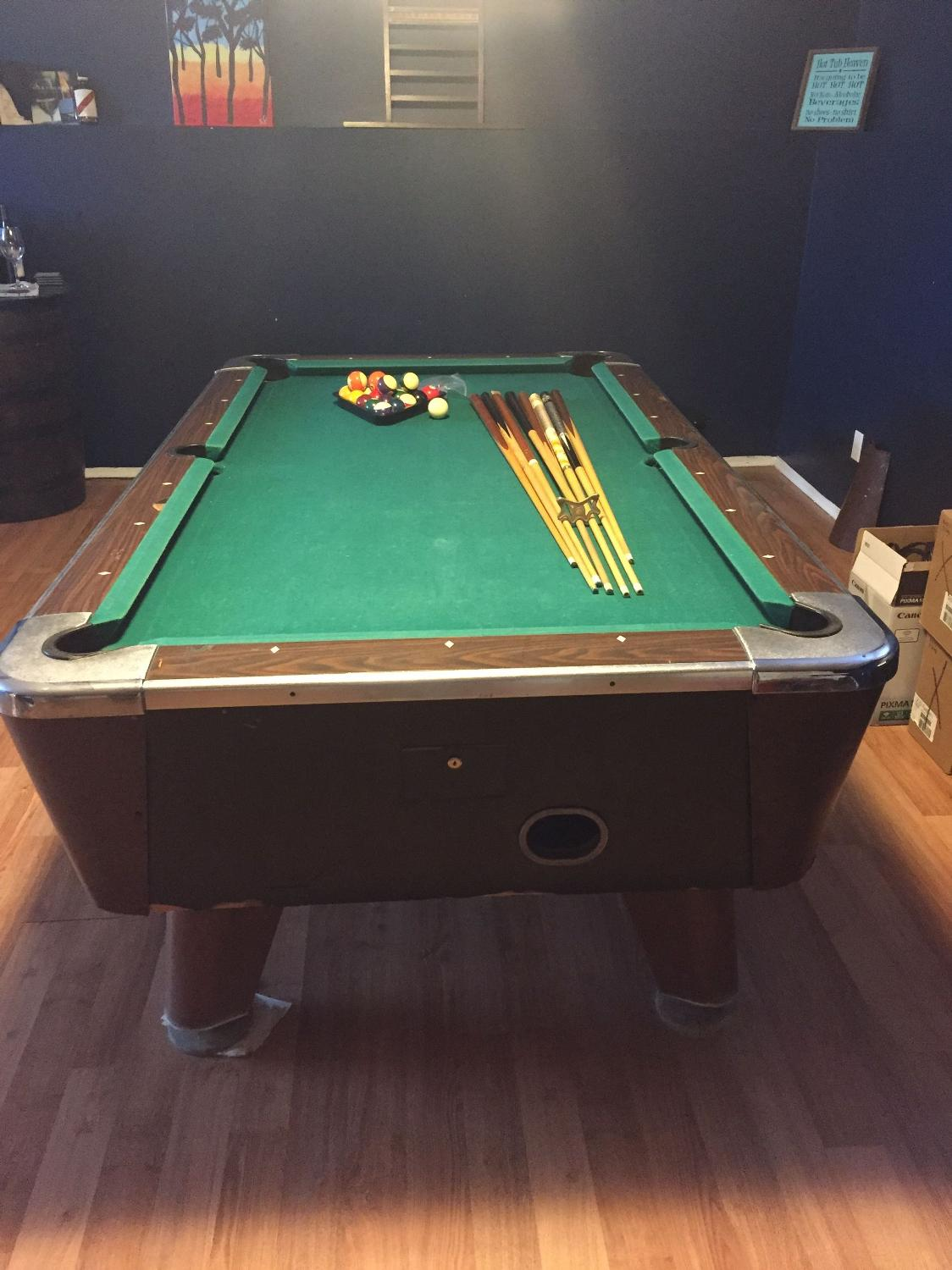 Find more slate pool table for sale at up to 90 off for 1 slate pool table