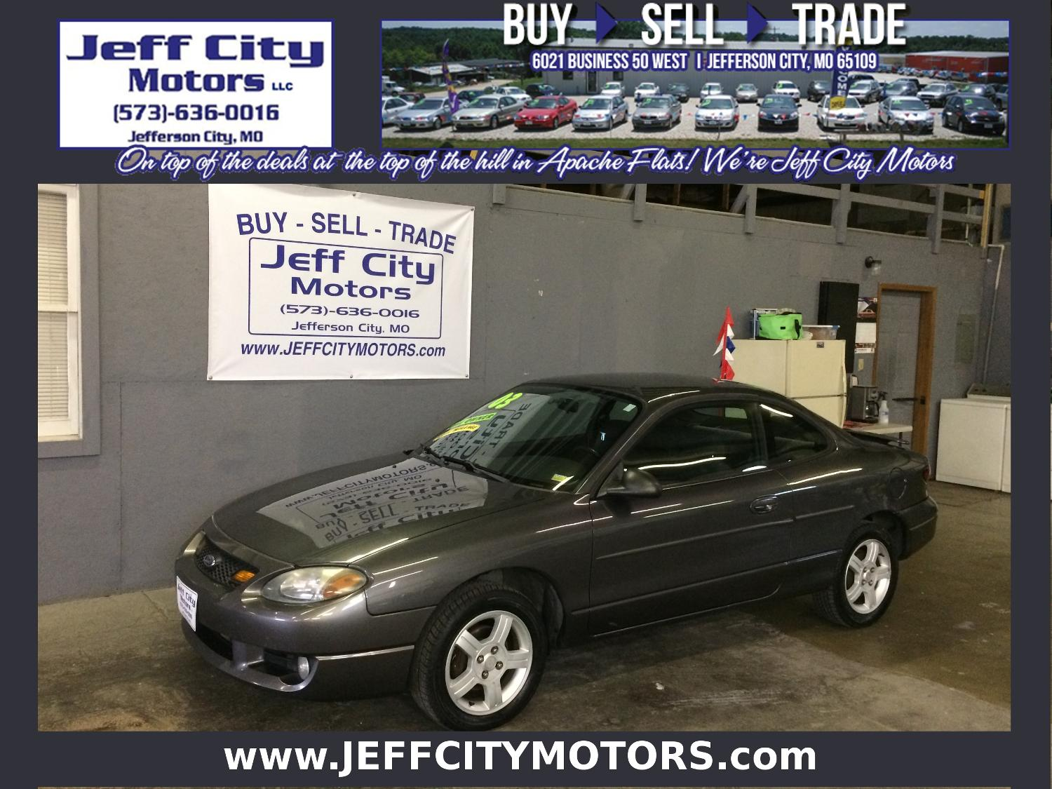 Car Dealerships In Jefferson City Mo >> Find more 2003 Ford Escort Zx2 Coupe * 1-owner for sale at up to 90% off - Columbia, MO