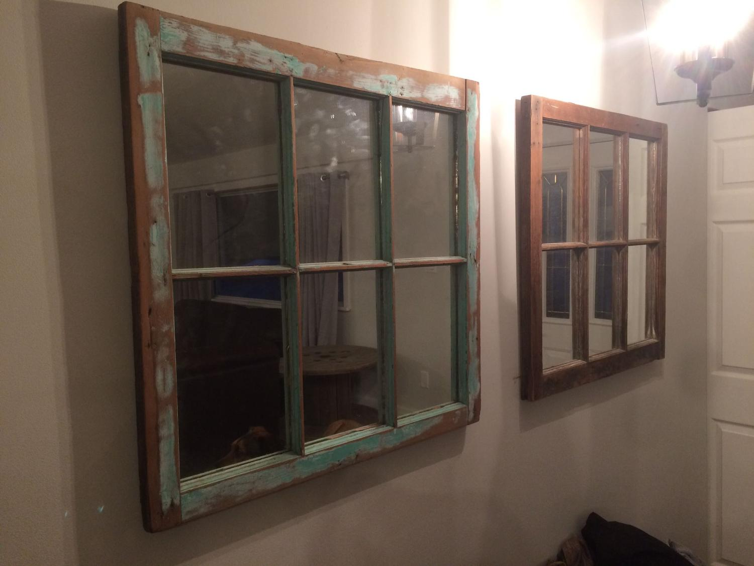 Best vintage window mirrors for sale in victoria british for Window mirrors for sale