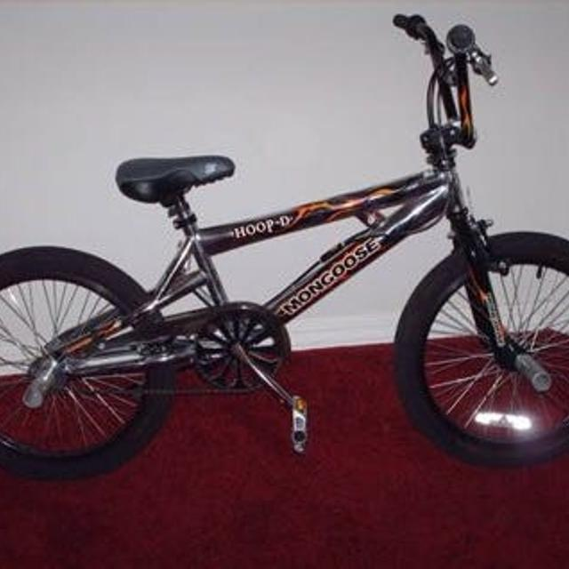 Mongoose 20 Inch Hoop D Freestyle Bmx