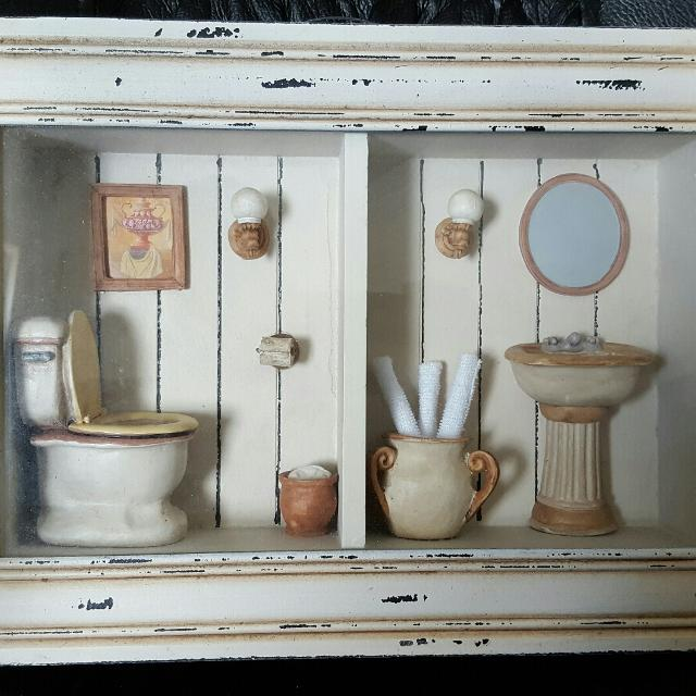 Find More Bathroom Shadow Box For