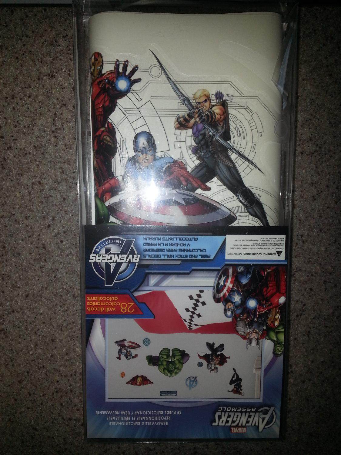 Best avengers wall decals for sale in mohawk valley new for Avengers wall mural amazon