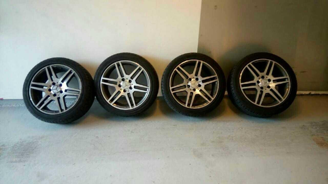 Best mercedes benz amg rims with tire 225 45r17 for sale for Mercedes benz rims for sale