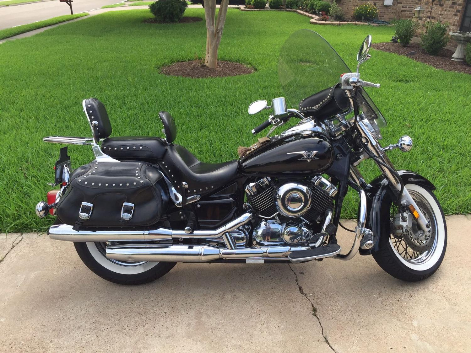 best 2007 yamaha v star 650 for sale in brazoria county texas for 2017. Black Bedroom Furniture Sets. Home Design Ideas