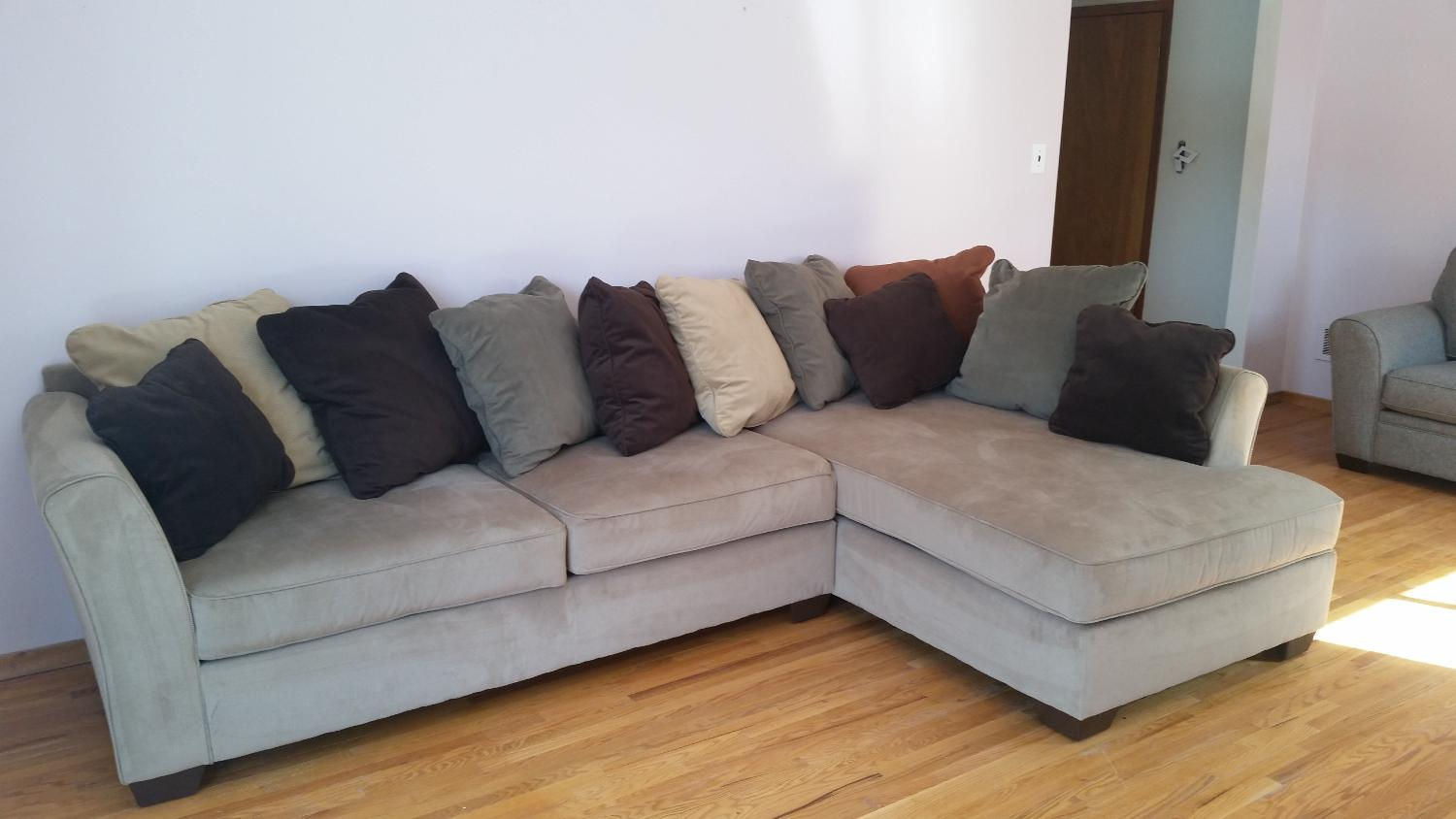Find more ashley furniture sectional couch for sale at up for Furniture 90 off