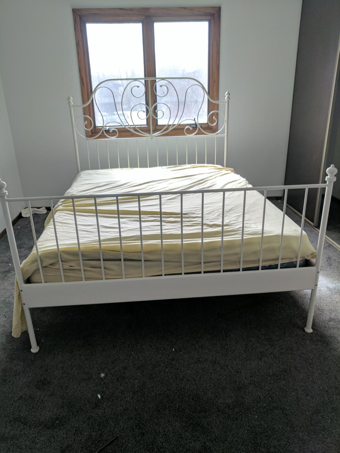 Best Queen Ikea Metal Bed Frame For Sale In Brooklyn Park Minnesota For 2018