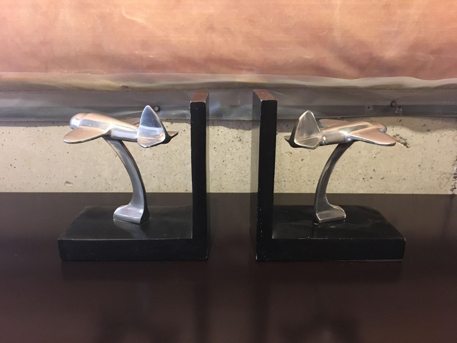 Find more heavy duty plane themed bookends for sale at up to 90 off ajax on - Sturdy bookends ...