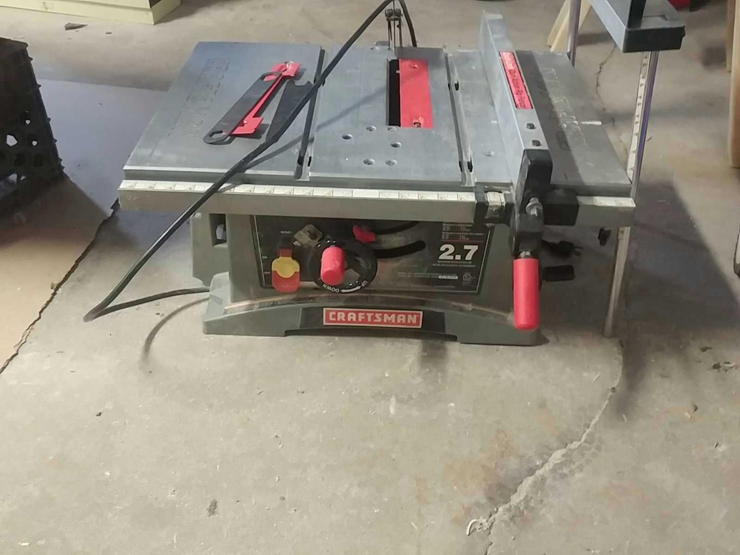 find more craftsman table saw needs a motor for sale at