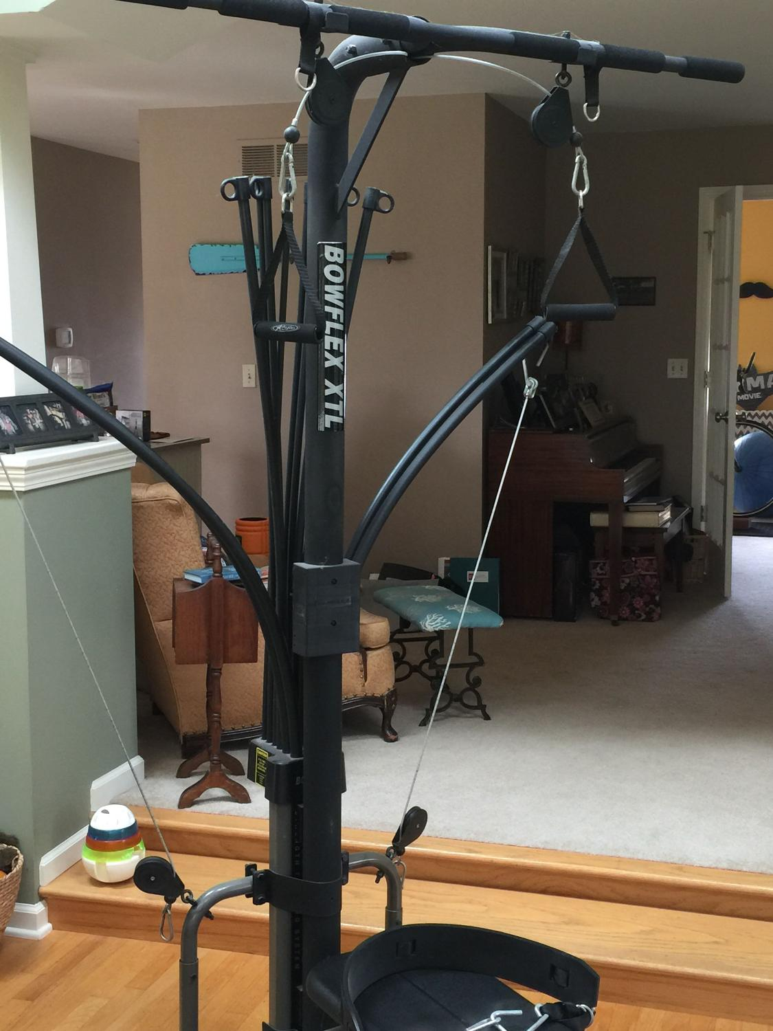 Find more bowflex total home gym reduced price nd time