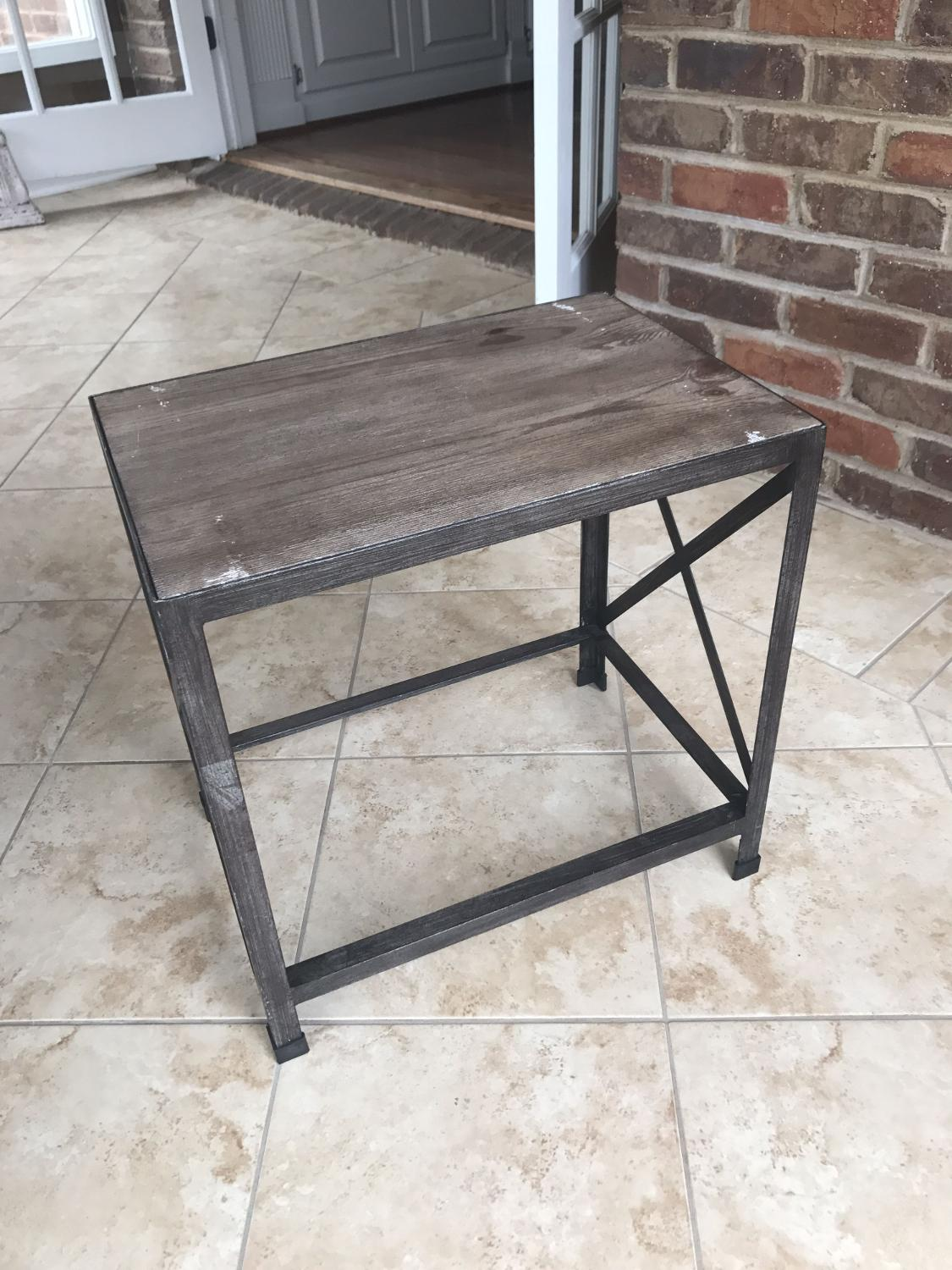 Find More Rustic Industrial End Table For Sale At Up To 90 Off Hendersonville Tn