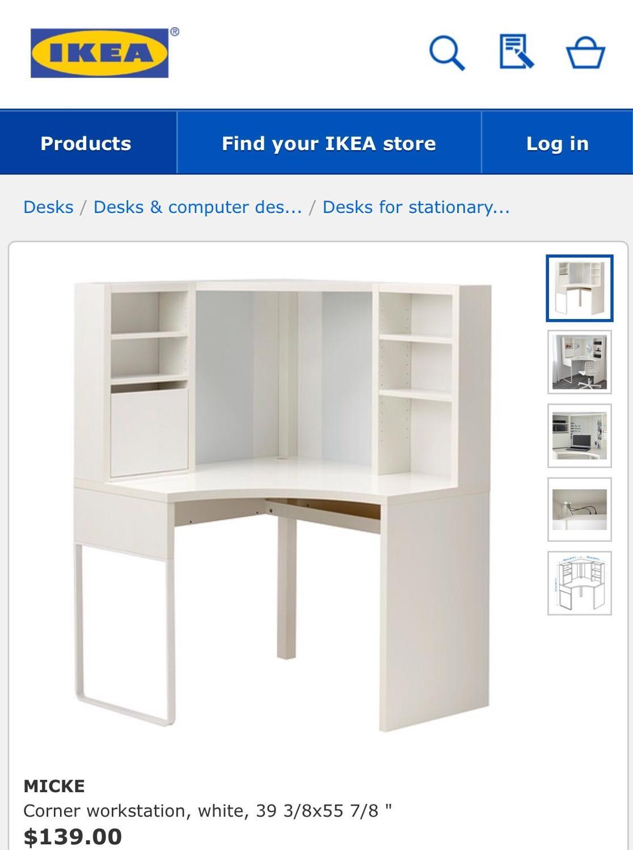 Best ikea corner desk for sale in auburn washington for 2017 for Furniture auburn wa