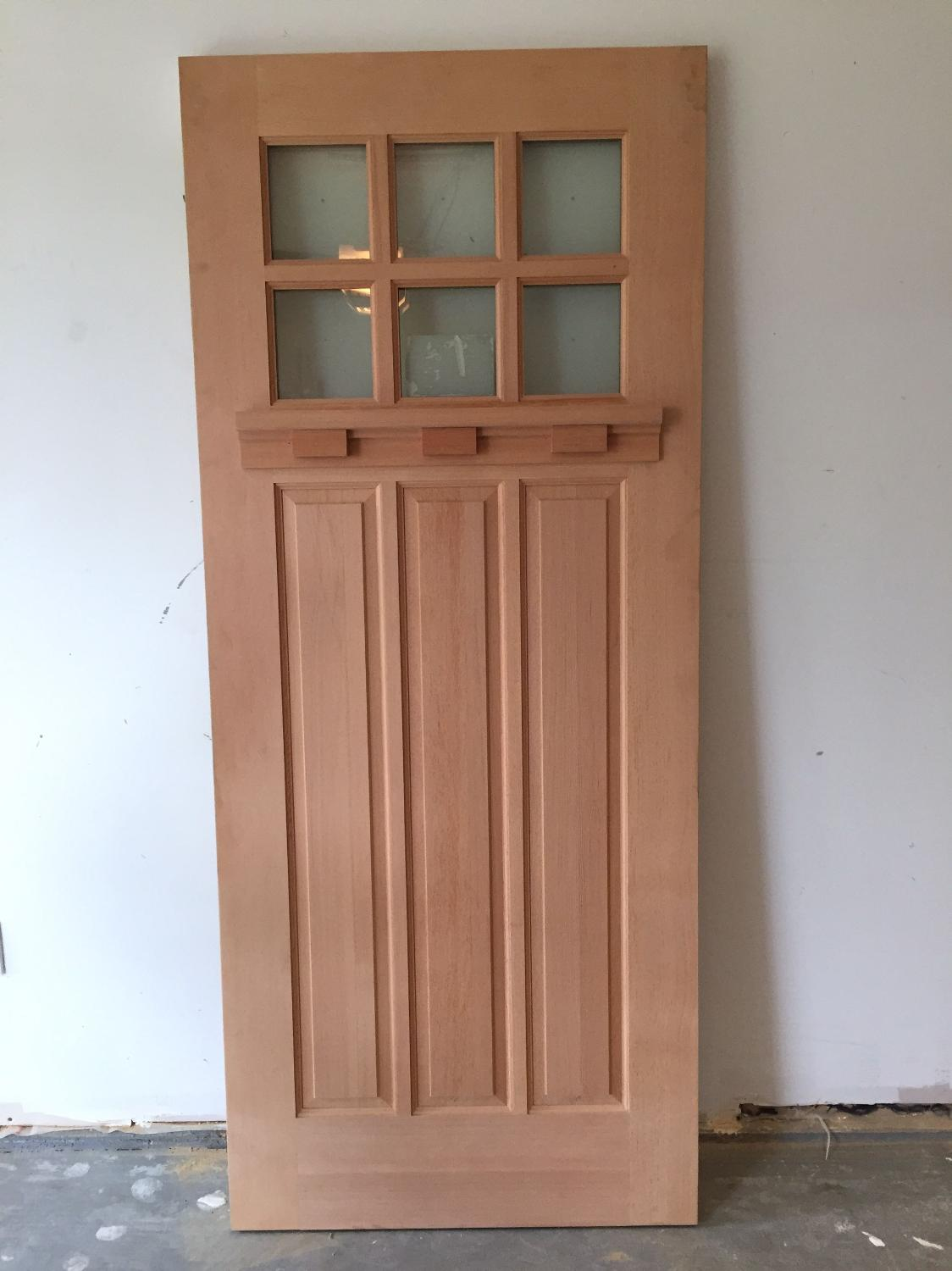 Find more exterior custom fir door unstained brand new for Oversized exterior doors for sale