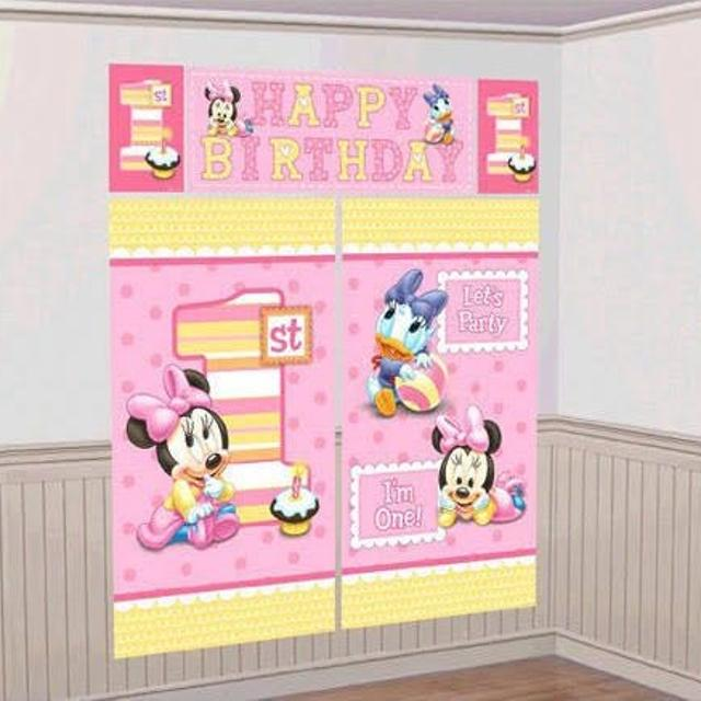 Best Baby Minnie Mouse 1st Birthday Decoration Kit For Sale In Frisco Texas 2019