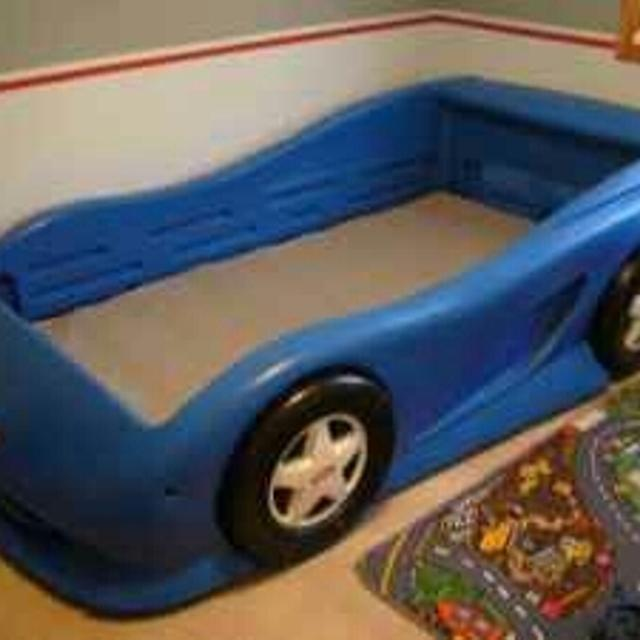 Little Tikes Blue Car Bed Twin