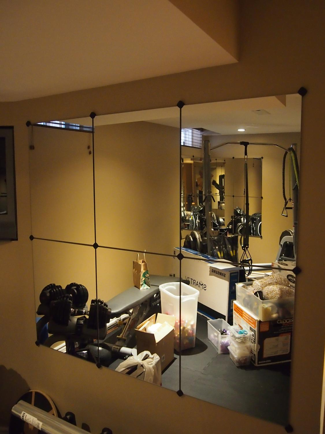 Best gym mirrors for sale in markham ontario for 2017 for Used gym mirrors