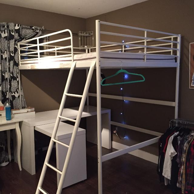 Find More Ikea Tromso Loft Bed Reduced Height Malm