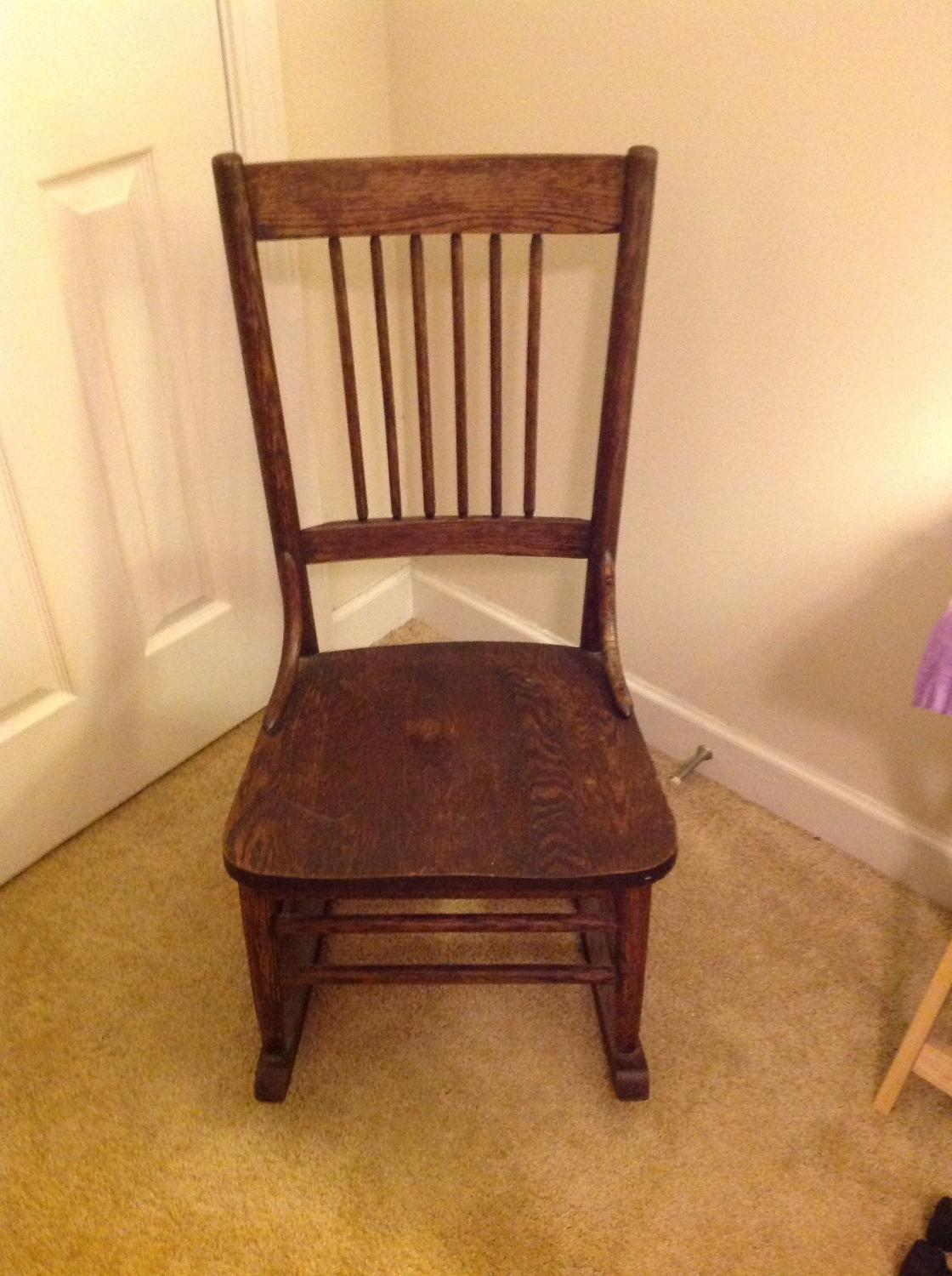 Best Small Rocking Chair For Sale In Concord North Carolina For 2018