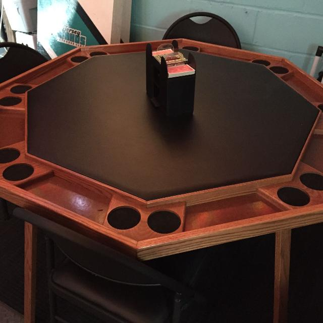 Best Octagon Poker Table With Folding Legs For Sale In New