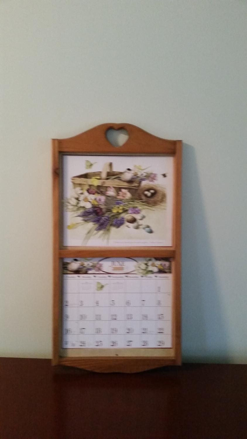 Calendar Wood Holder : Find more wooden lang calendar holder for sale at up to