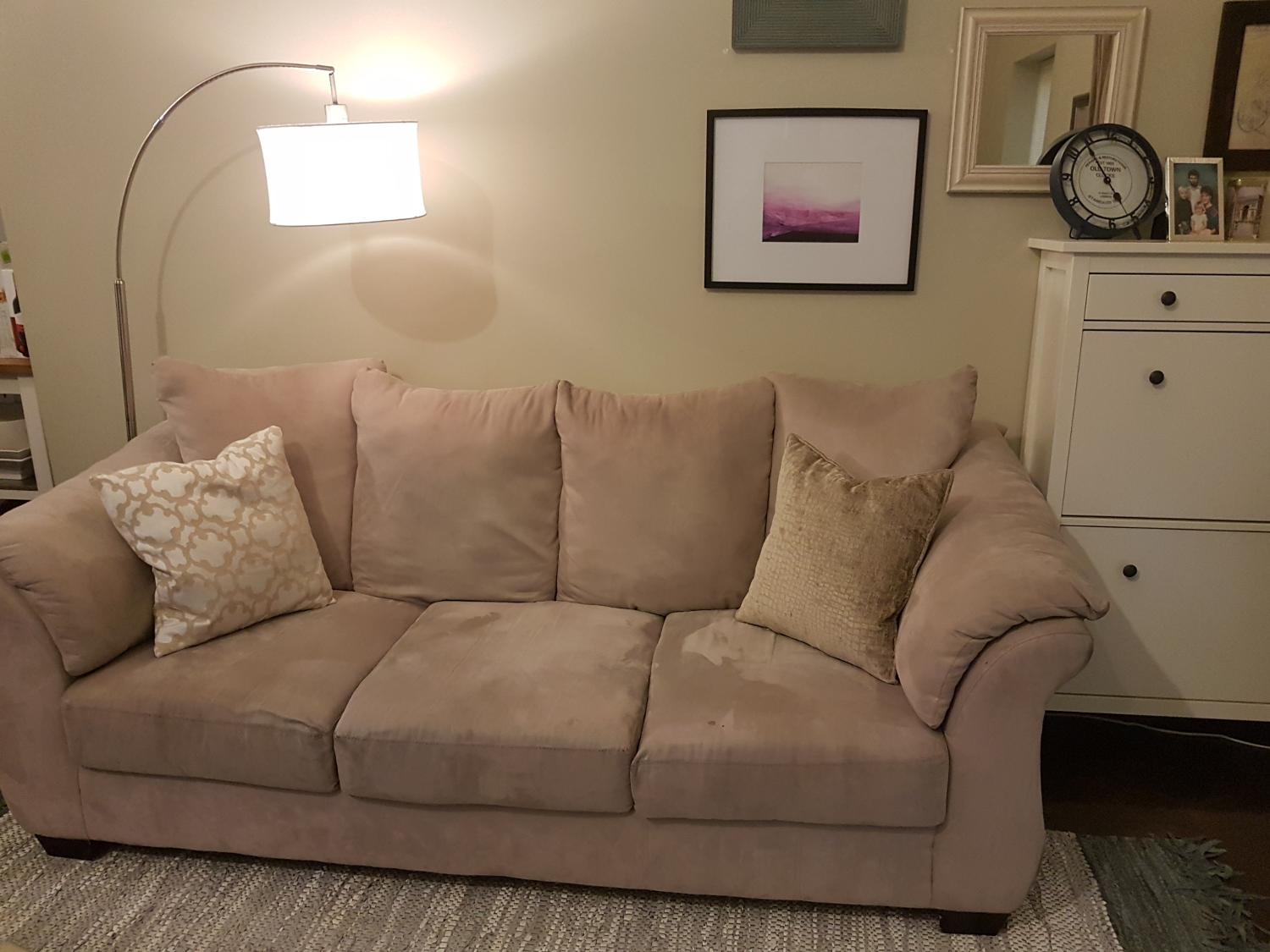 Find more comfortable couch sofa for sale at up to 90 for Sofa bed victoria bc