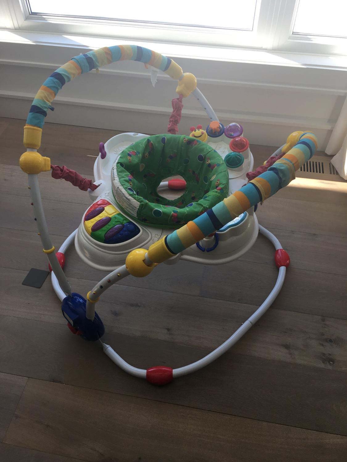 baby einstein exersaucer instructions
