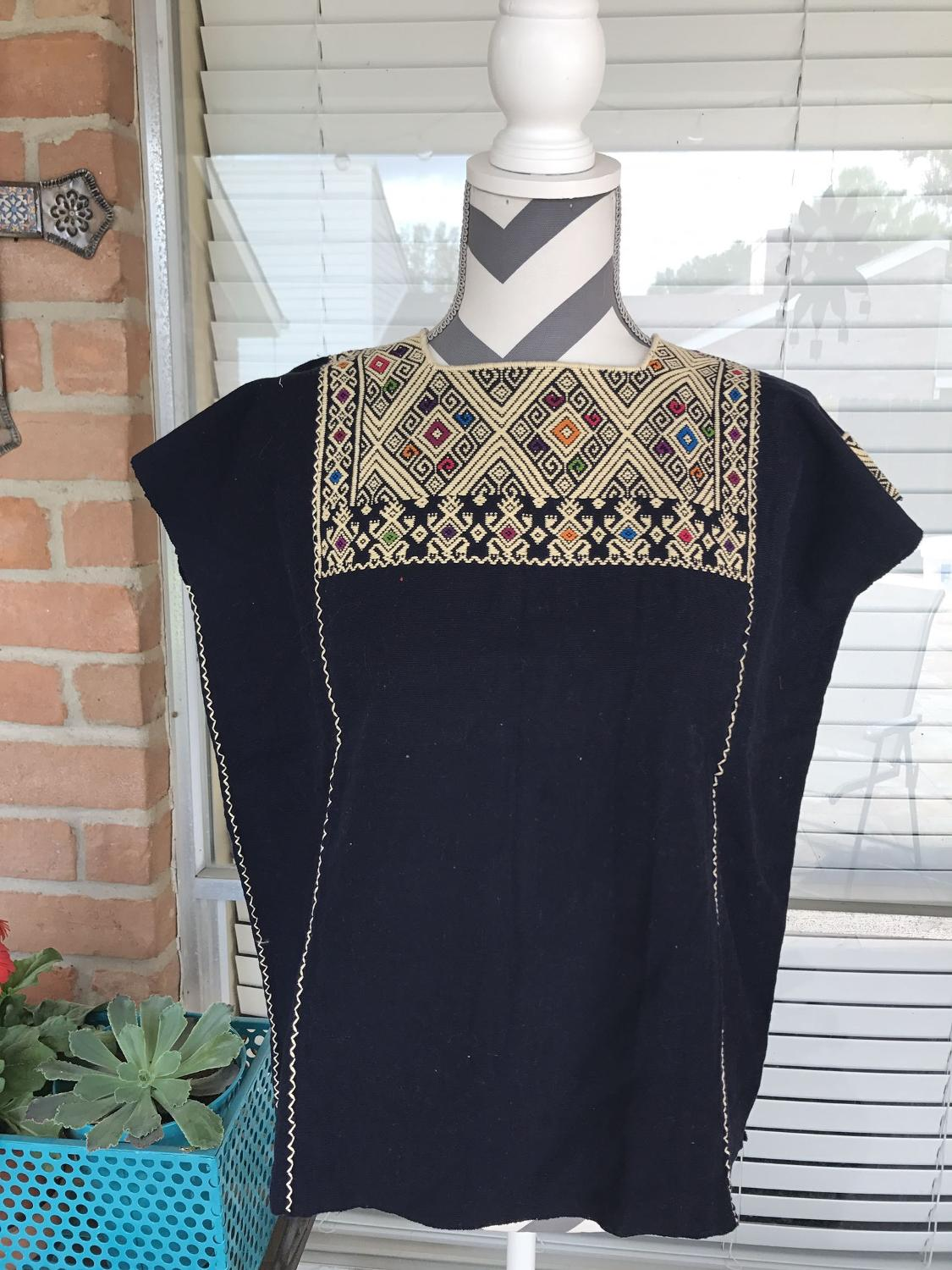 Best mexican hand embroidered top for sale in cypress
