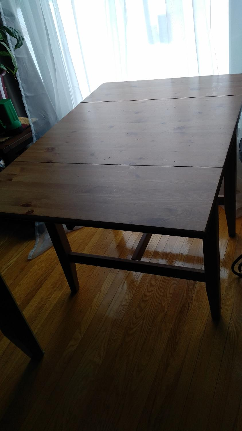 Find more ikea drop leaf table for sale at up to 90 off for Table up and down ikea