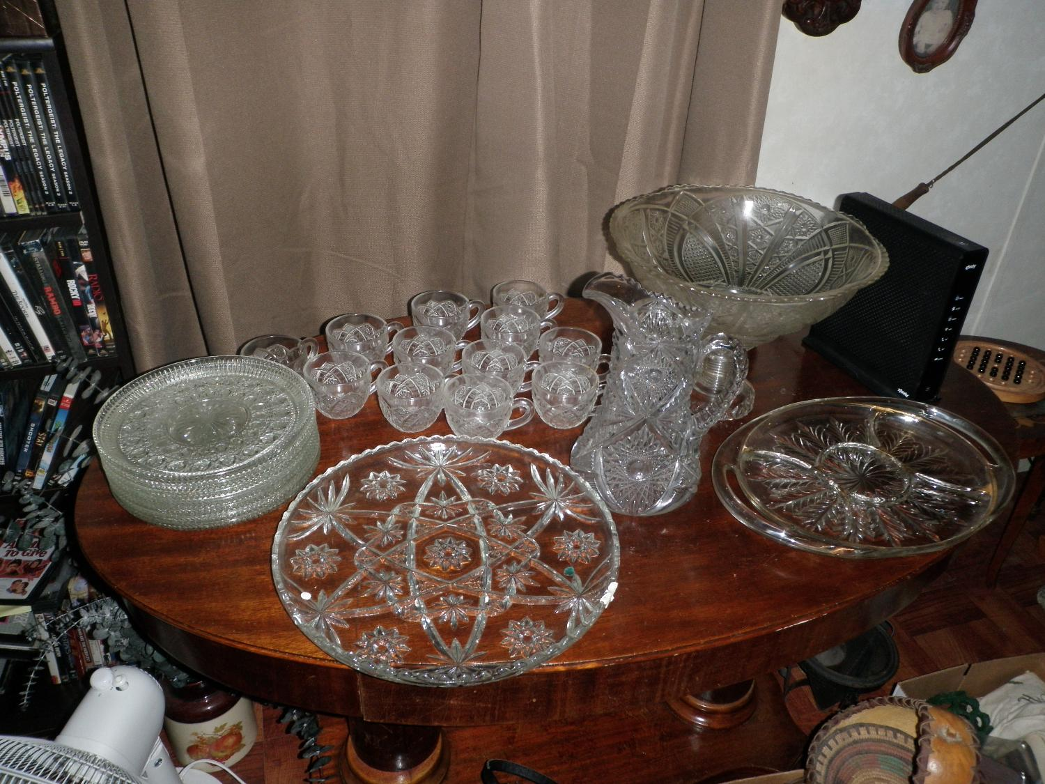 Best vintage glassware for sale in pasadena texas for 2017 for 18 8 salon pasadena