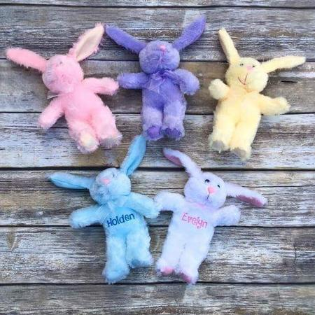 Stuffed Easter bunnies personalized for sale  Canada