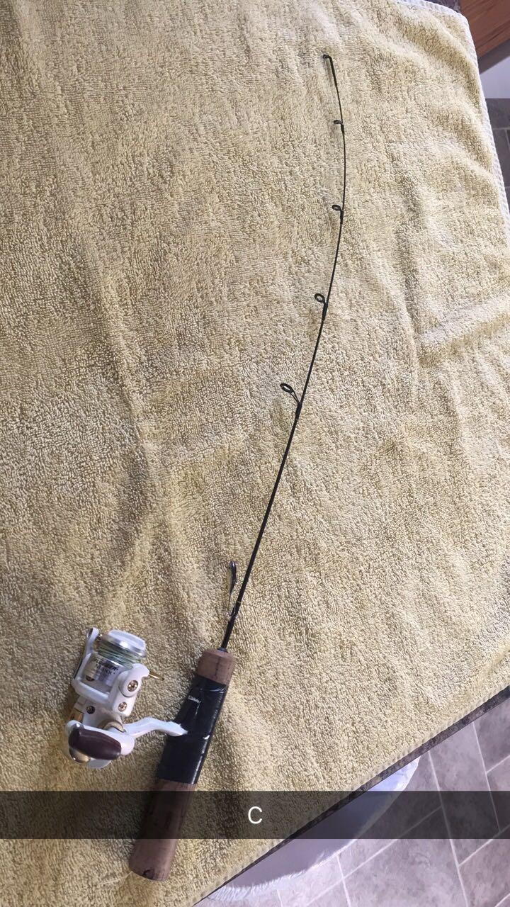Best Ice Fishing Rod For Sale In Minot North Dakota For 2018