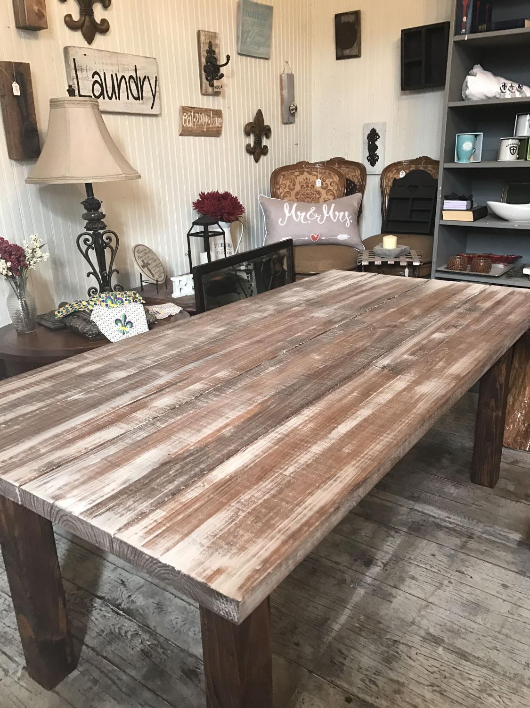 Best Custom Farmhouse Tables For Sale In Metairie Louisiana For 2018