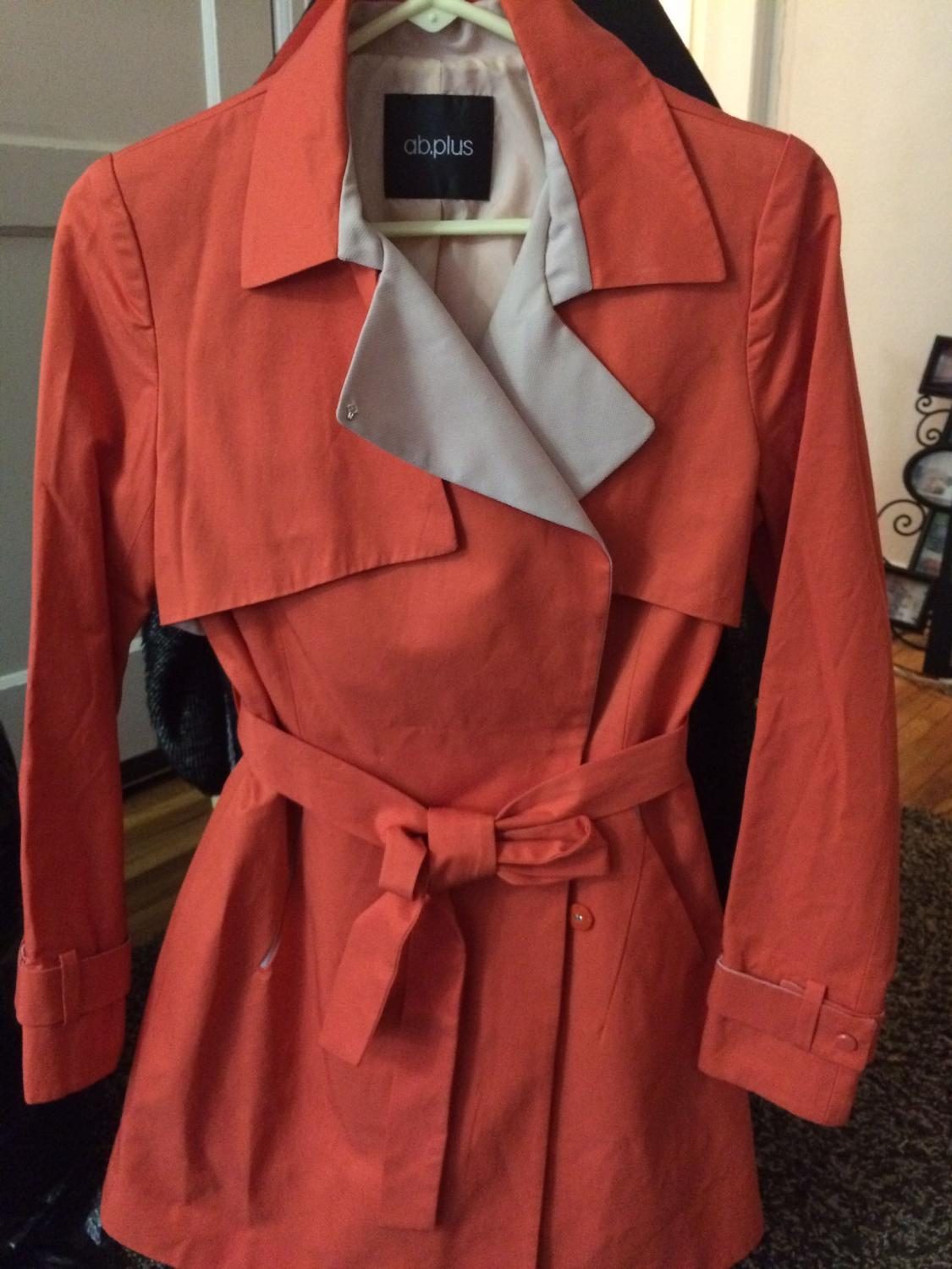 Best Orange Jacket Female Medium Size For Sale In Minot