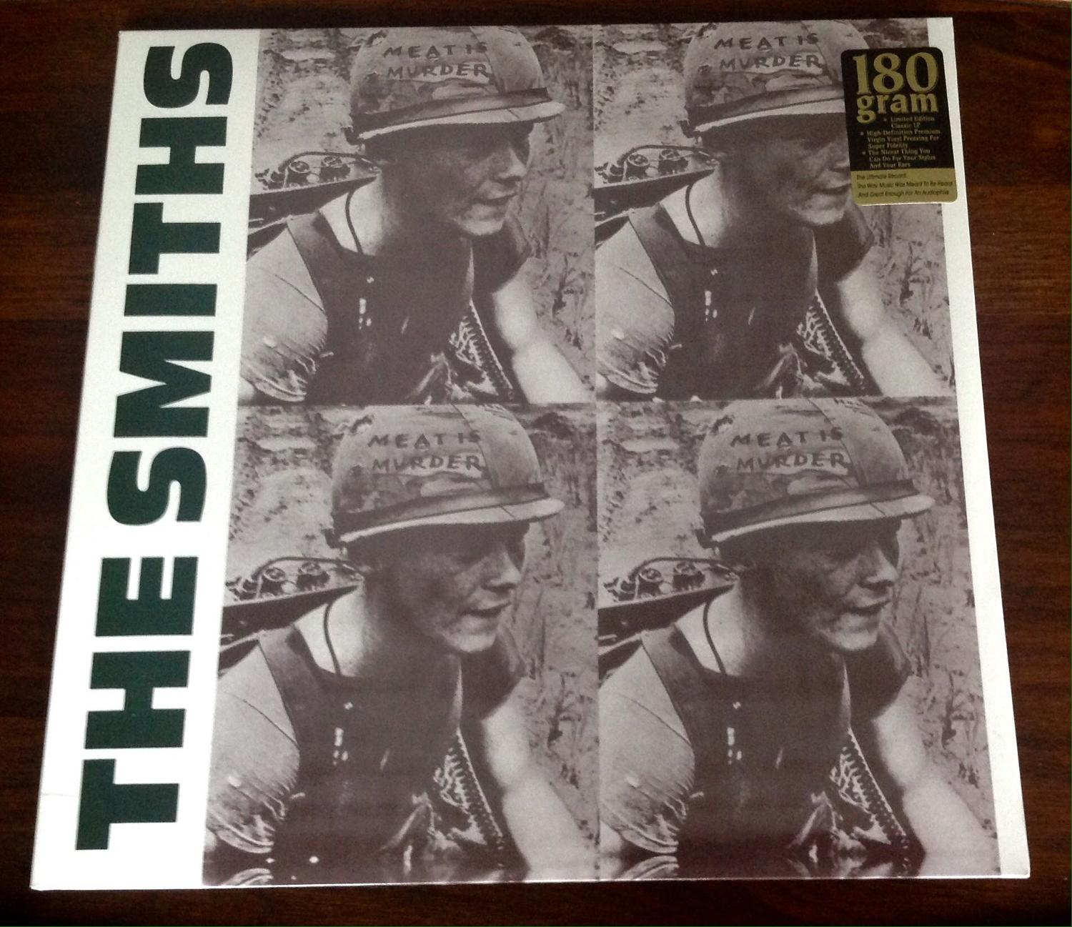 Best The Smiths Quot Meat Is Murder Quot Brand New Vinyl Lp