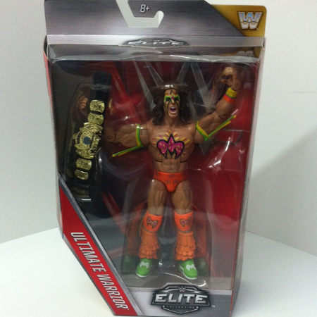 WWE Elite Collection Ultimate Warrior... for sale  Canada