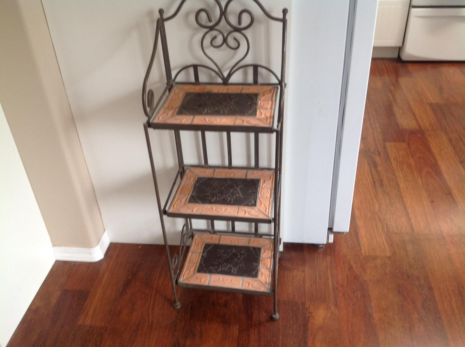 Find more wrought iron terracotta tier shelves for sale