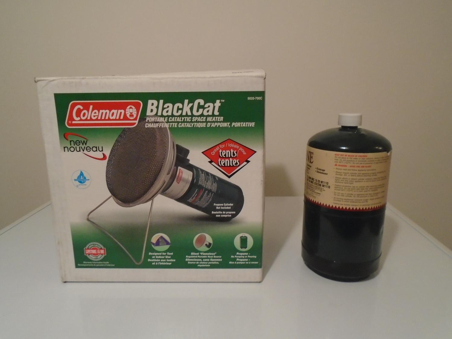 Find More Coleman Blackcat Portable Catalytic Space Heater