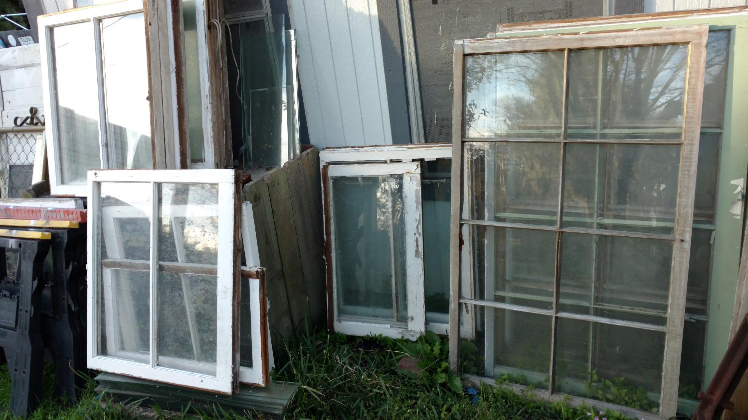 Marvelous photograph of Best Old Wood Framed Windows for sale in Brazoria County Texas for  with #7E6C4D color and 1500x844 pixels