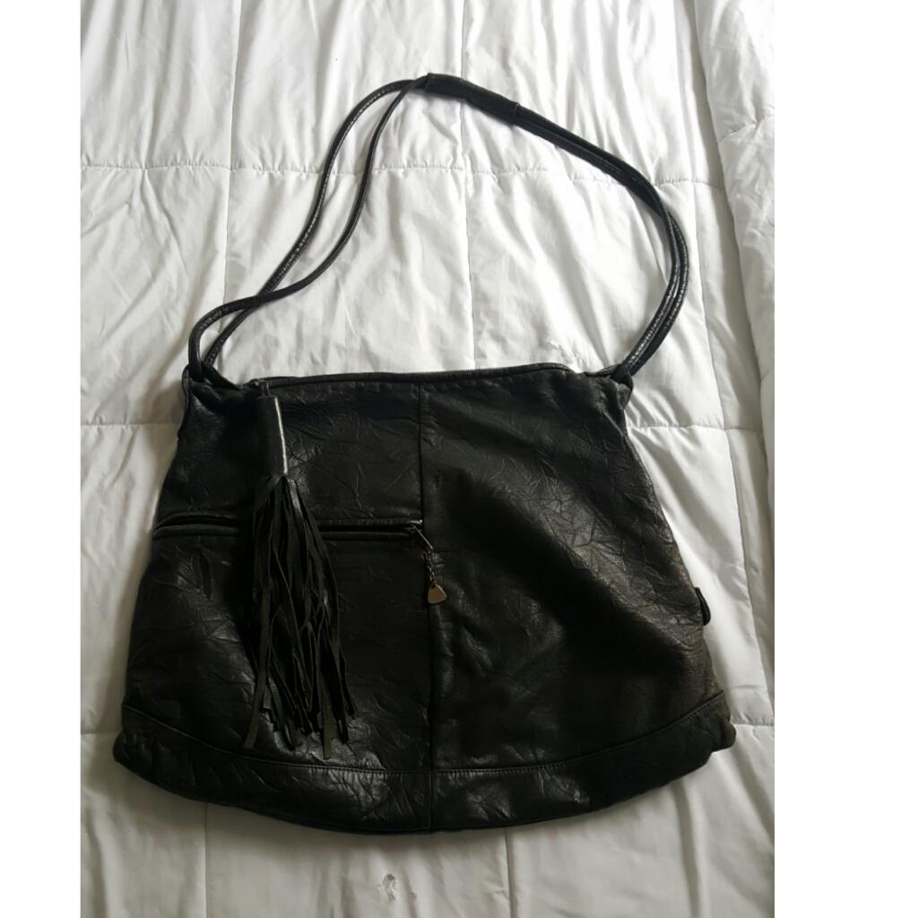 Best large vintage brio leather purse w tassle for sale for Klamath falls jewelry stores