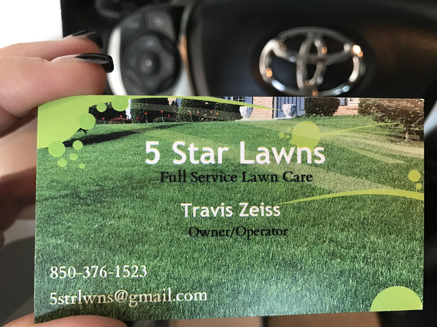 5 Star Lawns Full Service Lawn Care In Pensacola Florida