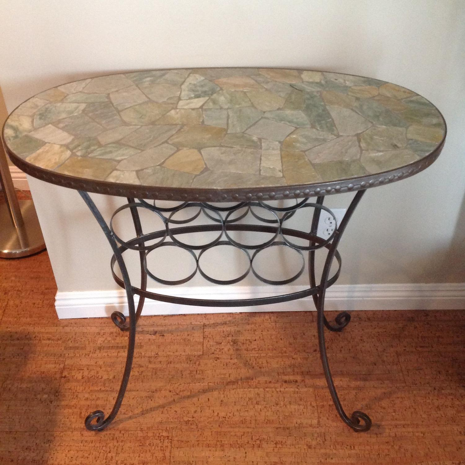 Best stone table wine rack for sale in cochrane alberta for Y h furniture trading