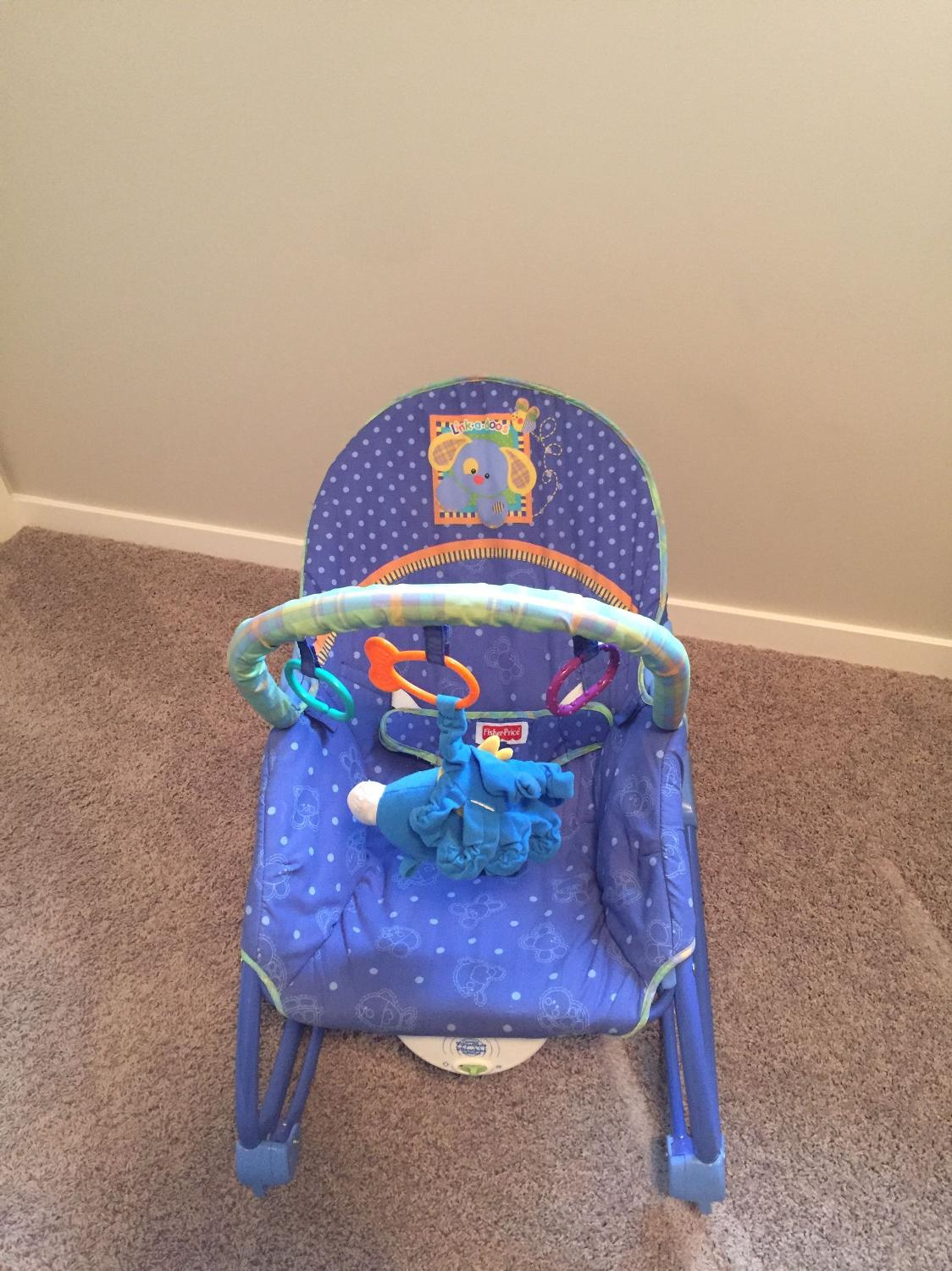 Best Fisher Price Rocker/vibrating Chair for sale in Airdrie, Alberta ...