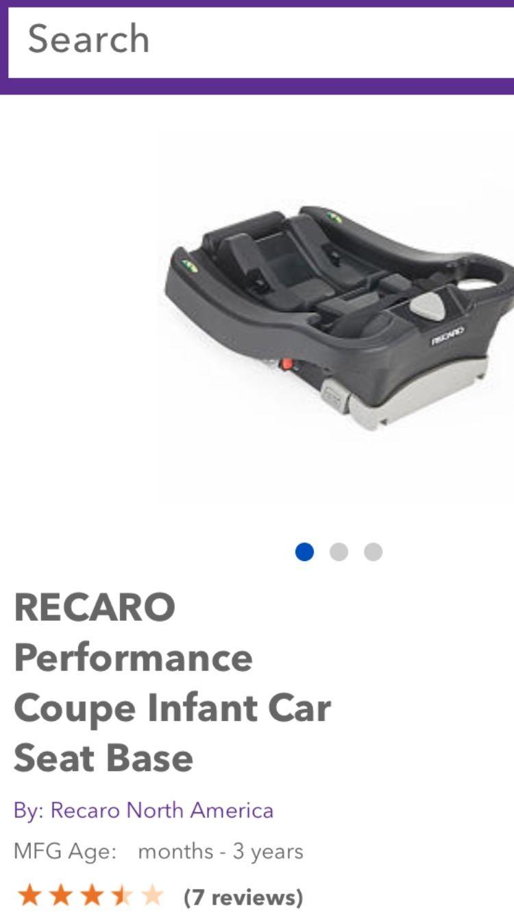 looking for recaro car seat base in missouri city texas for 2018. Black Bedroom Furniture Sets. Home Design Ideas