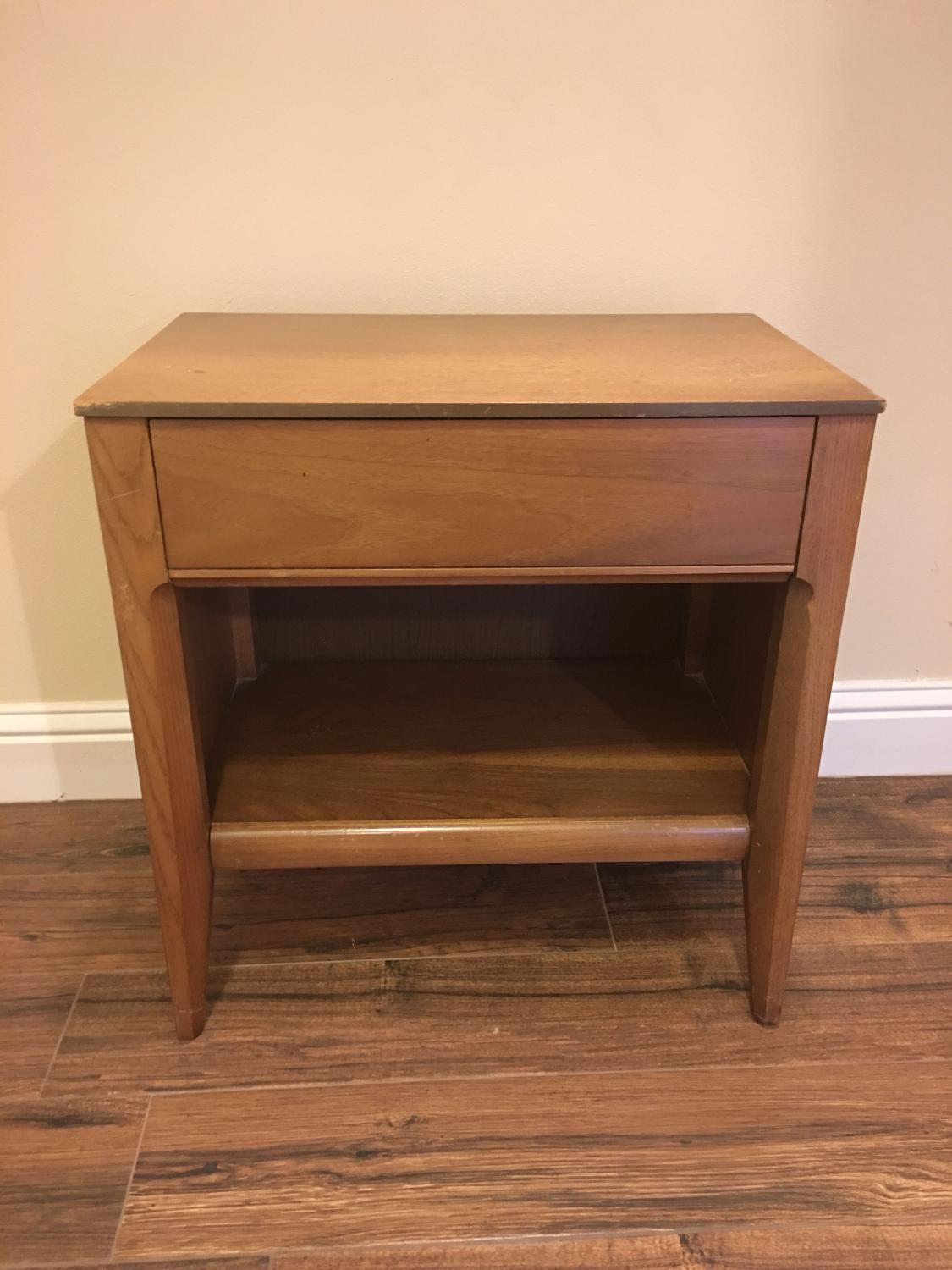 Best Mid Century Vintage Nightstand For Sale In Baton Rouge Louisiana For 2018