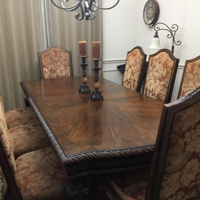 Casa Molina Formal Dining Room Table And Chairs By Ashley Furniture