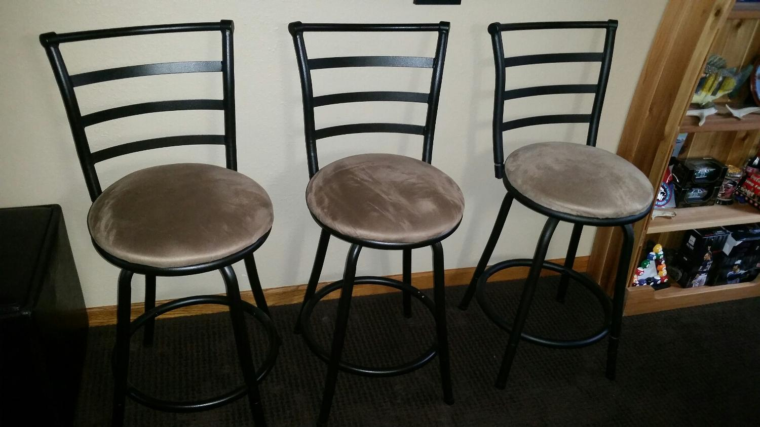Find More 3 Bar Stools Excellent Condition For Sale At Up To 90 Off