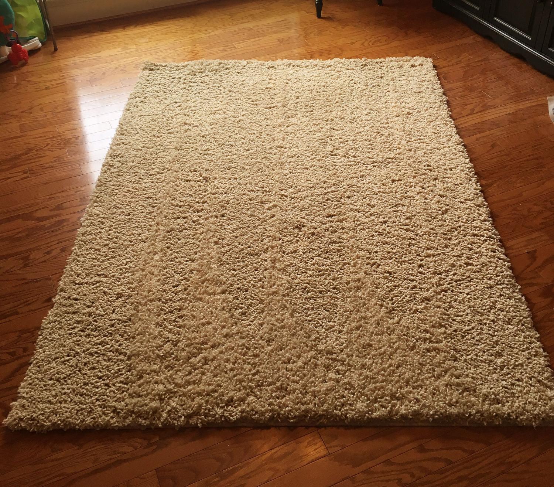 find more shag area rug 5x7 for sale at up to 90 off mountain brook al. Black Bedroom Furniture Sets. Home Design Ideas