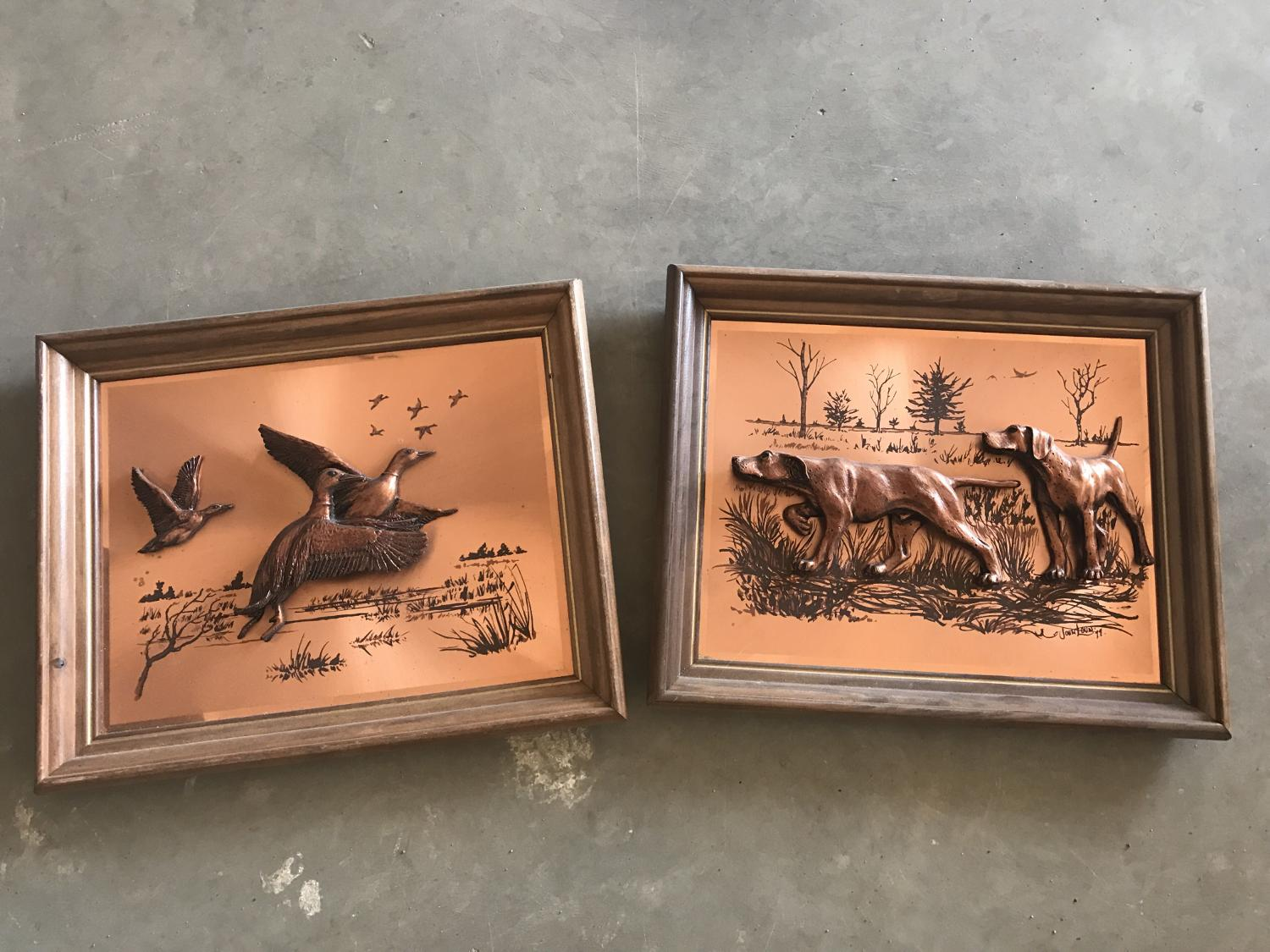 Best Two Hunting Wall Art Pictures 5 For Sale In Minot