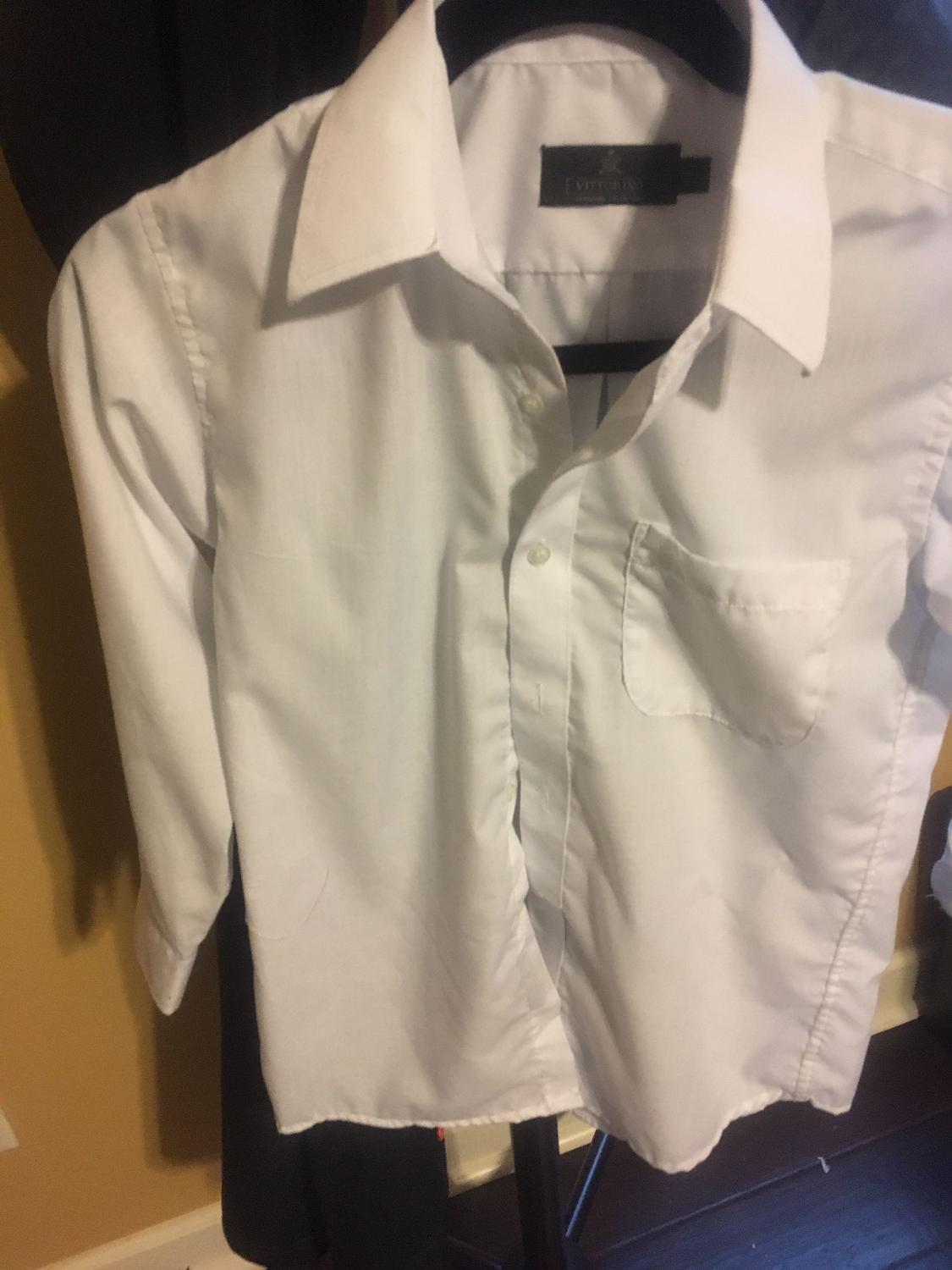 Find more boys white dress shirt size 10 for sale at up to for Buy white dress shirt