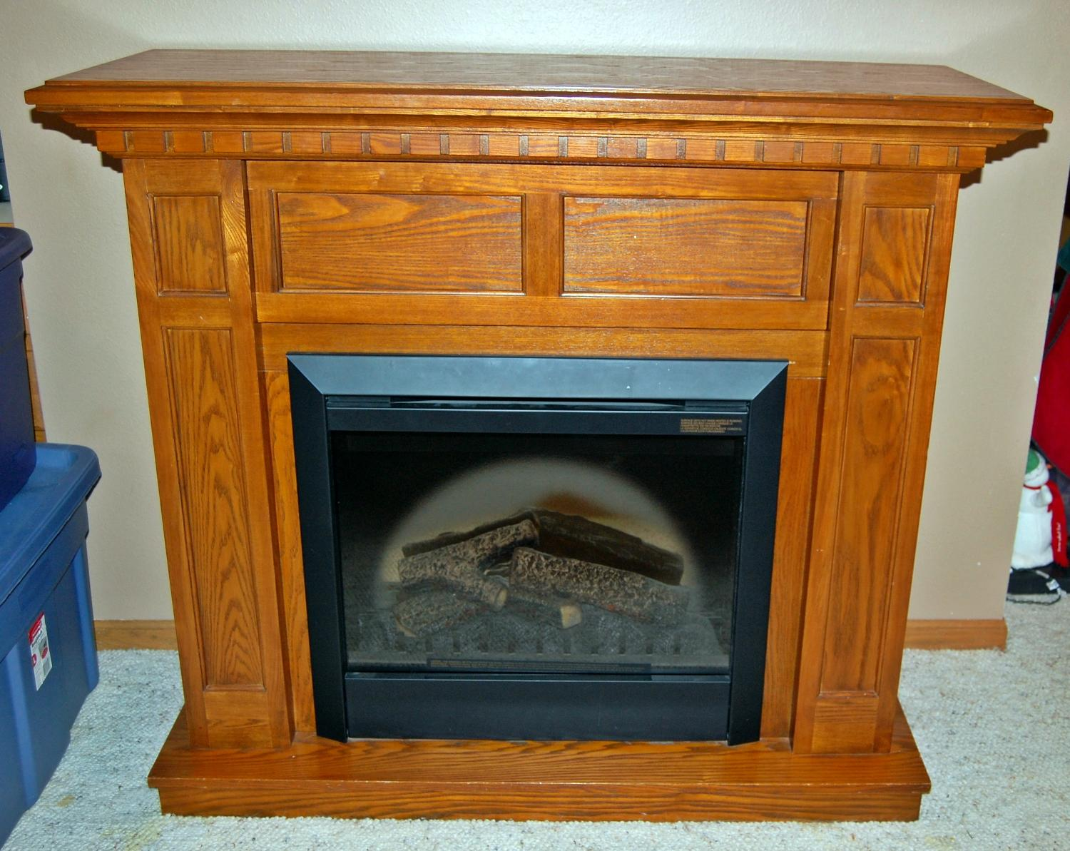 Best Oak Electric Fireplace For Sale In Minot North Dakota For 2017